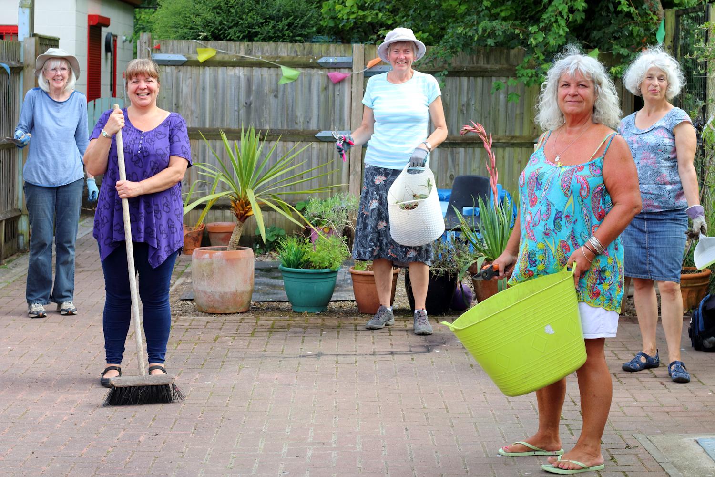 Volunteers from Stanmore Gardening Club