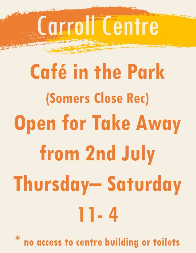 Stanmore Cafe in the Park