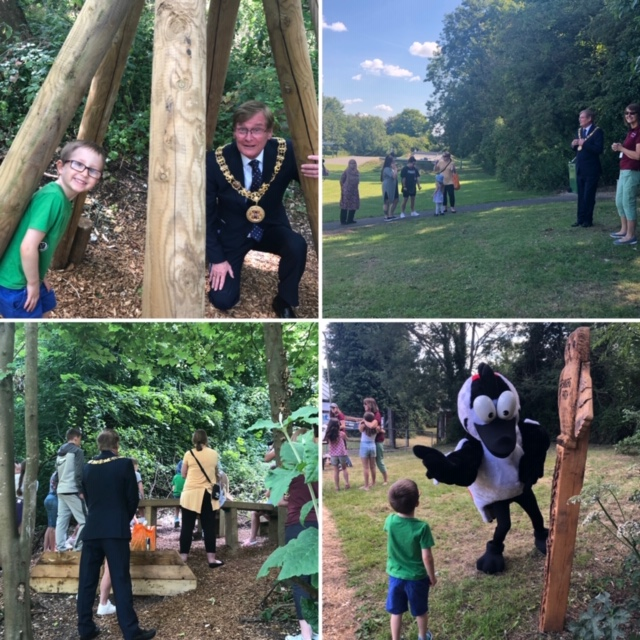 Stanmore Woodland Trail Opened by Mayor of Winchester